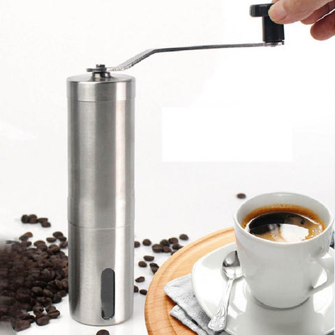 Stainless Steel Handheld Coffee Grinder