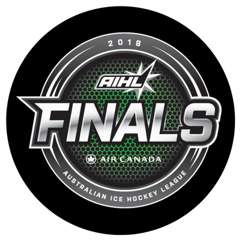 2018 AIHL Finals Souvenir Hockey Puck