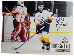 Greg Oddy #10 Autographed Picture