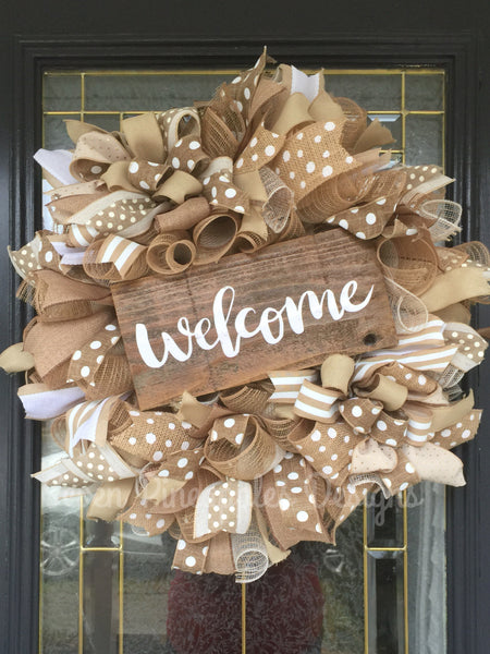Everyday Welcome Wreath