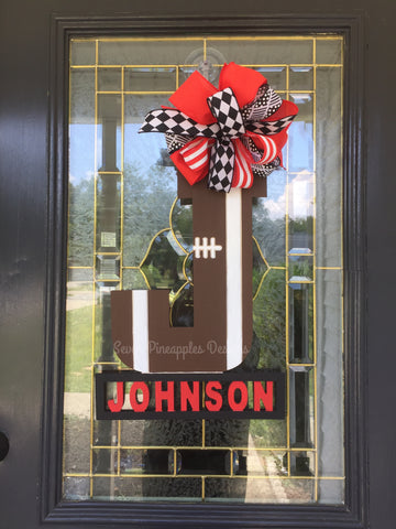 Football Door Hanger