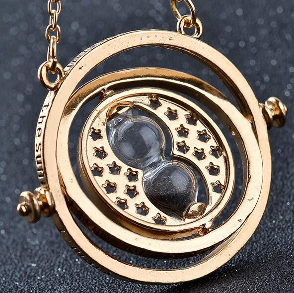 Time turner hourglass pendant necklaces 4 her beauty llc time turner hourglass pendant necklaces mozeypictures Image collections