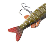 "Pike or Muskie Segmented 5"" Fishing Lure"