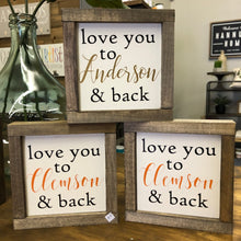 "7"" square mini framed signs"