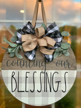 Home Sweet Home / Count Your Blessing/Family Name door hangers