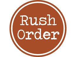 RUSH ORDER CHARGE