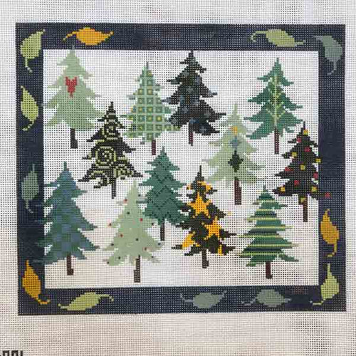 Pipin Studio 12 Canadian Christmas Trees