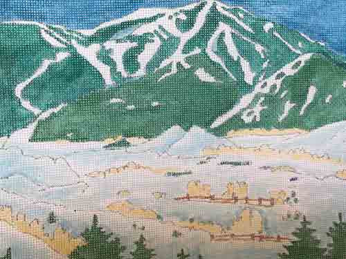 Sun Valley Exclusives Mt. Baldy Canvas