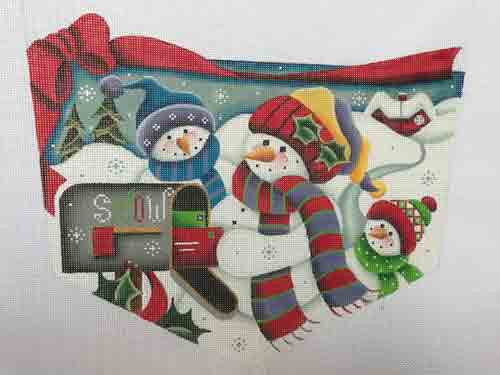 Rebecca Christmas Letters Sock Top