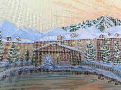 Sun Valley Lodge Canvas