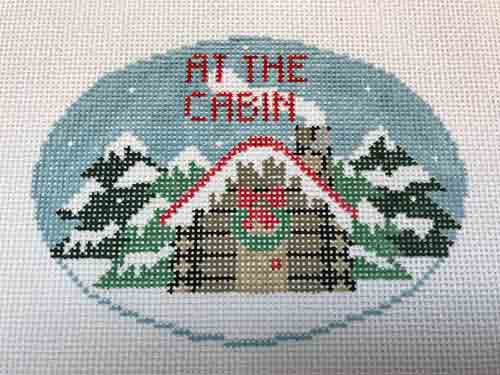 Kathy Schenkel Mountain Cabin Ornament