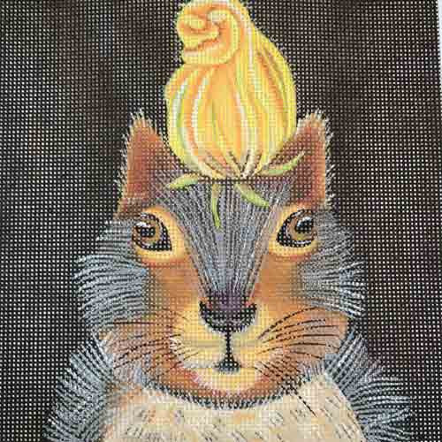 Vicki Sawyer Squash Blossom Squirrel