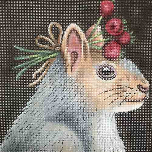 Vicki Sawyer Squirrel With Hawthorne