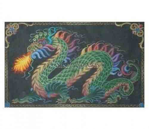 Tapestry Tent Dragon