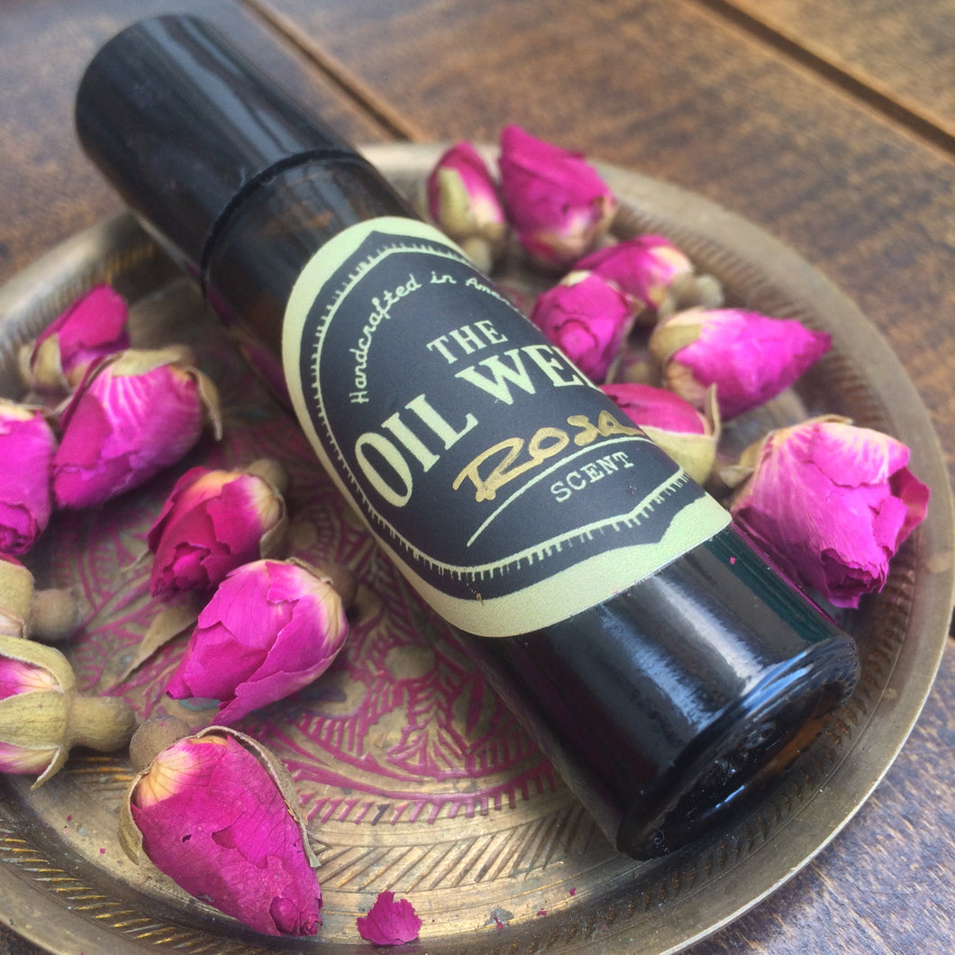 ROSE OIL FOR EVANGELINE BOTANICAL PERFUME