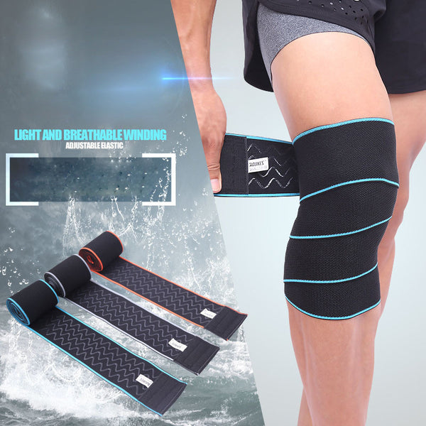 "Aolikes® Original Lifting Knee Wraps (63""/130cm) - 2pcs"
