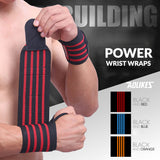 "Aolikes® Power Wrist Wraps (23.6""/60cm) - 2pcs"