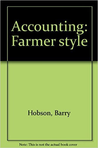 Item 10518   ACCOUNTING FARMER STYLE