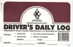 Item 10196   LOG BOOKS - DRIVER'S DAILY LOG (set of 4)