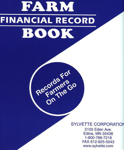 Item 10146   FARM FINANCIAL RECORD BOOK 24 DISB. 12 RECEIPTS & 1' NTBK.