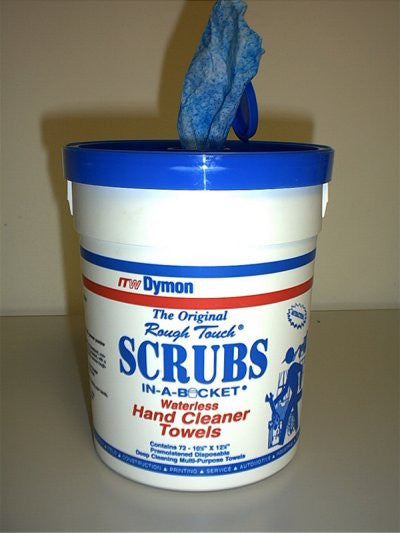 Item 10691   SCRUBS (1 TUB, 72 TOWELS)