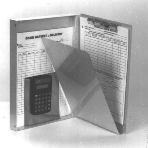 Item 10246   SNAPOUT HOLDER W/CALCULATOR 12 X 9 X 1