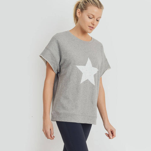 Antiqued Solo Star Terry Sweatshirt