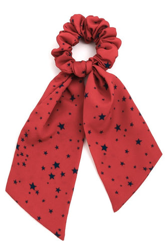 Star Print Scrunchie