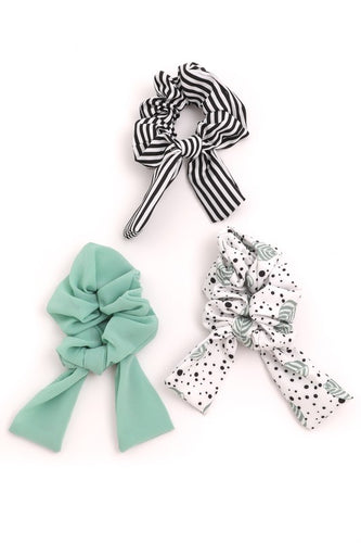 Multi Scrunchie Set