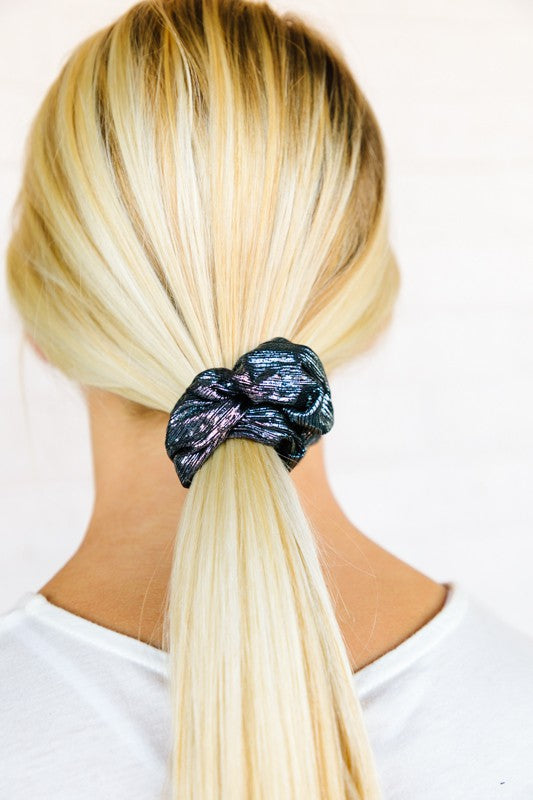 Mixed Metal Scrunchies