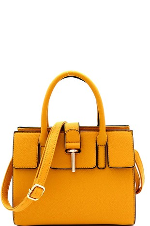 Satchel Mini Bag-Mustard
