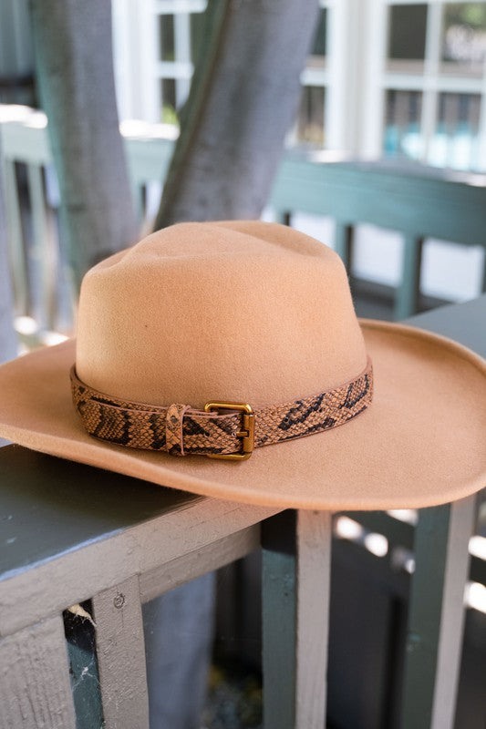Gone Country Cowboy Hat -Brown