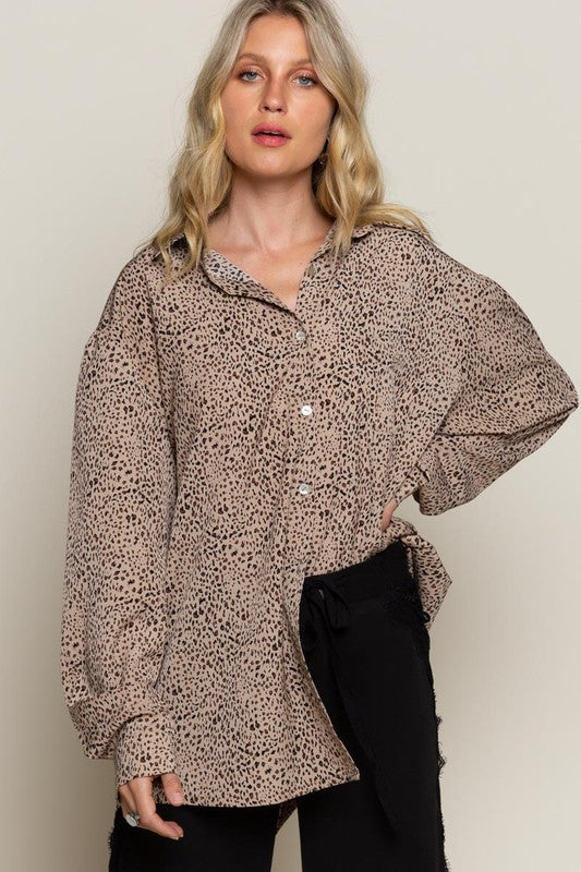 Work & Play Leopard Top