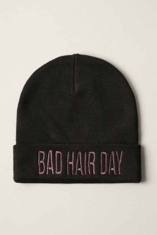 Metallic Bad Hair Day Beanie