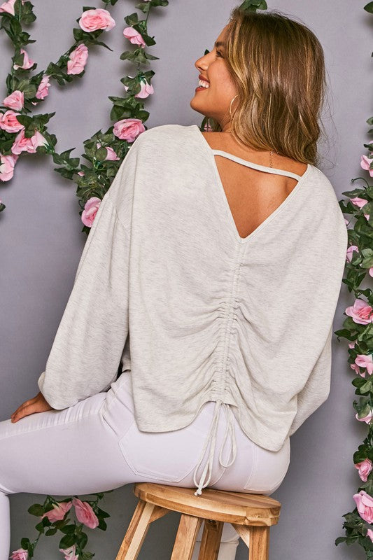 Cuddle Bug Knit Top