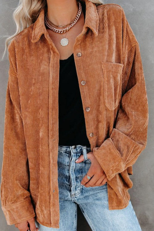 Sahara Sunset Corduroy Jacket