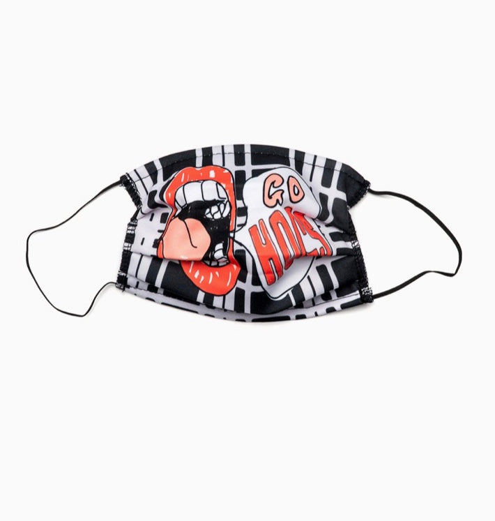 Go Hogs Mouth Face Mask