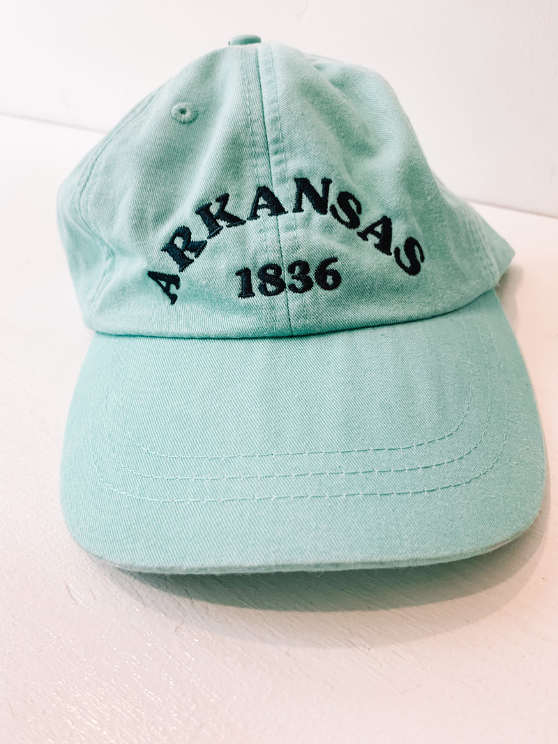 Arkansas 1836 Seafoam Hat