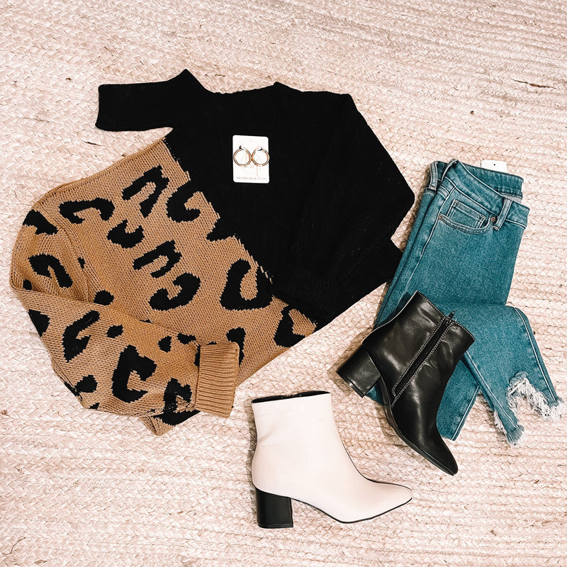 Jungle Love Cable Knit Sweater
