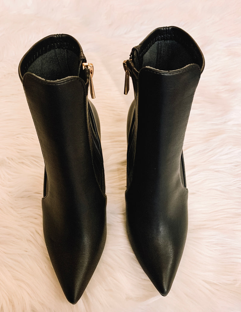 Everyday Leather Booties