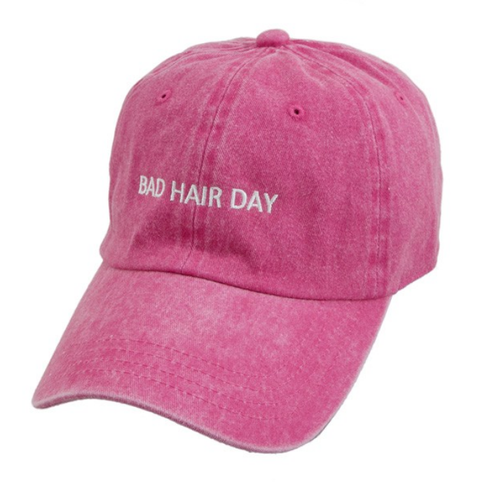 Bad Hair Day Hat -Pink