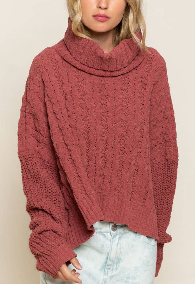 Jessie Cable Knit Sweater