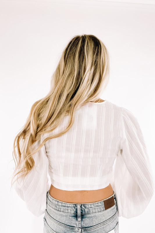 Estelle Top -White