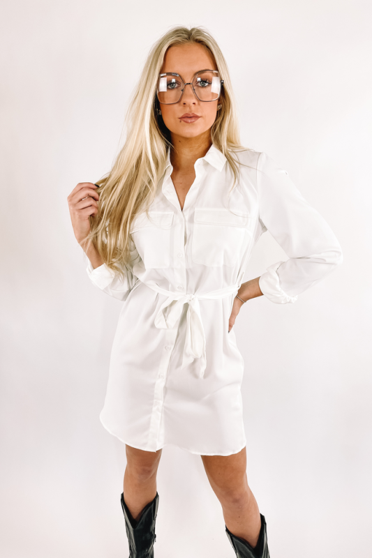 Monica Shirt Dress