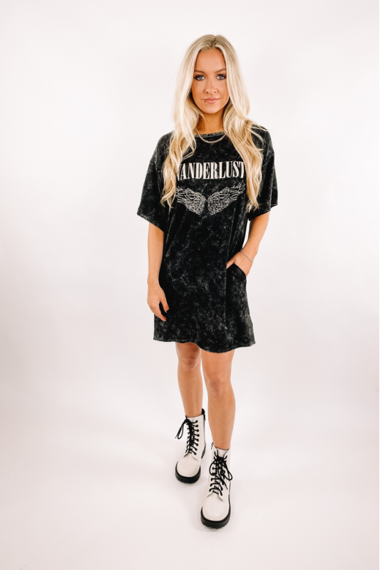 Wanderlust Shirt Dress