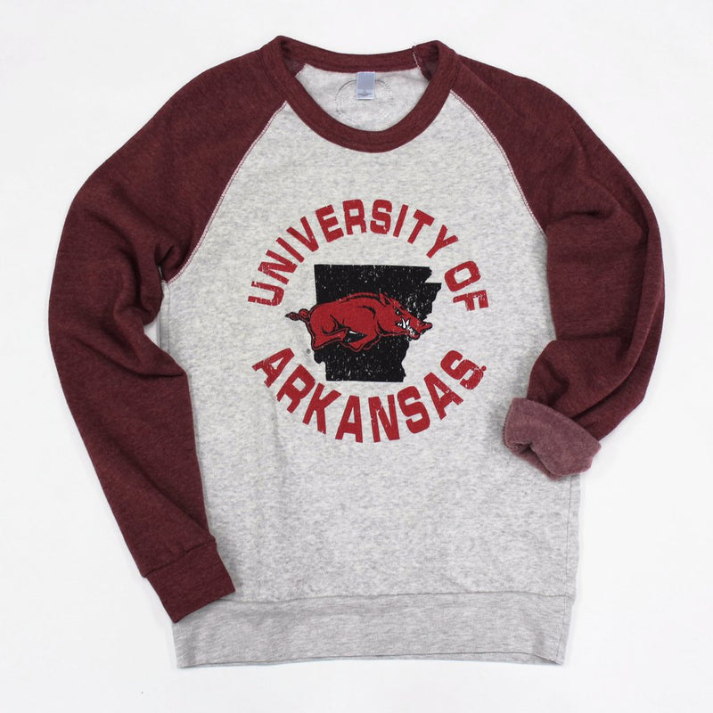 University of Arkansas Circle Crewneck