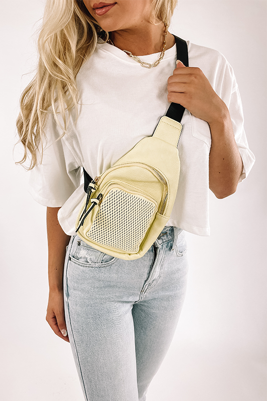 Laser Cut Sling Backpack