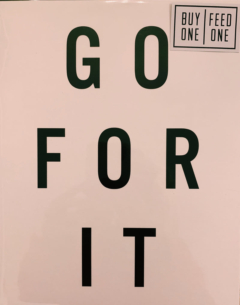 8X10 Print -go for it