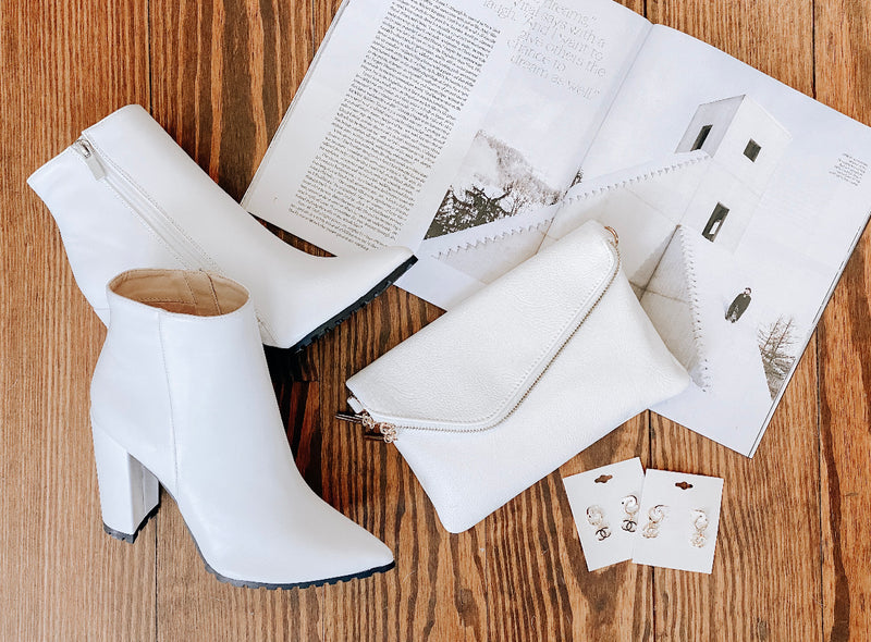 High White Bootie