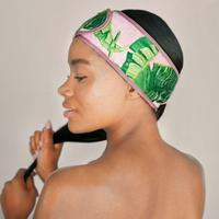 Microfiber Spa Headband -Palm Print